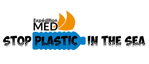 Expédition MED Logo banderolle